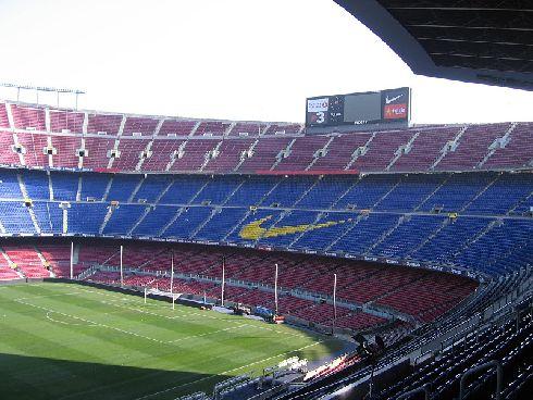 Футбольный стадион Барселоны