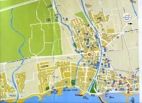 Подробная карта Камбрильса