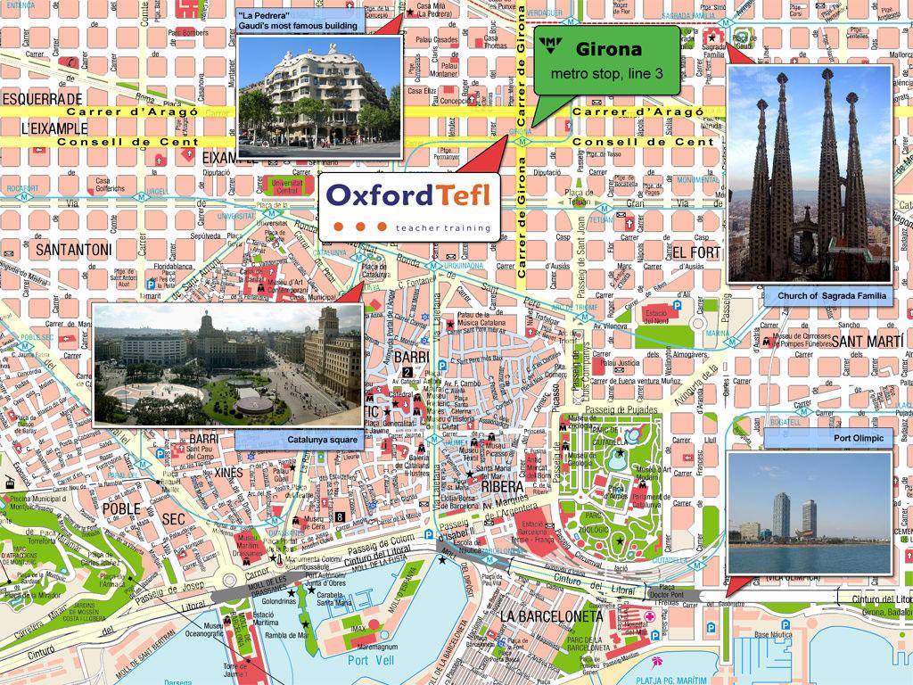 Карта Барселоны На Русском Скачать - фото 6