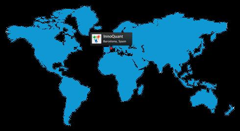 Расположение Барселоны на карте мира