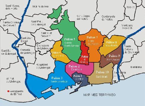 Административная карта города