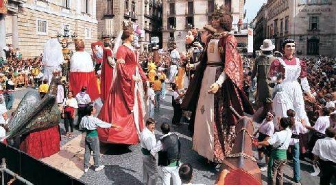 Традиция праздника ''Fiestas de la Mercè'' берёт начало с 1871 г.