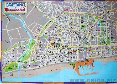Туристическая карта Фуэнхиролы 3