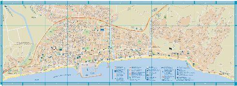 Туристическая карта Фуэнхиролы 2