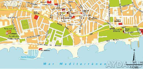 Карта Марбельи