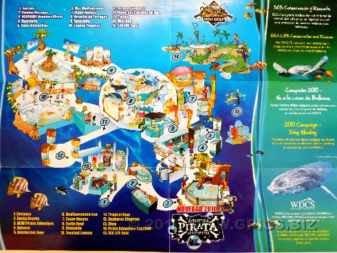Аквариум ''Sea Life'' карта 2