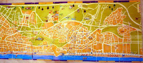 Подробная карта Торремолиноса