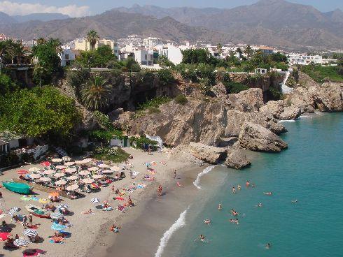 В сентябре Средиземное море на Коста-дель-Соль весьма тёплое