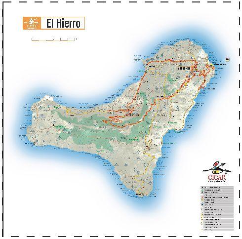 Карта Эль-Йерро