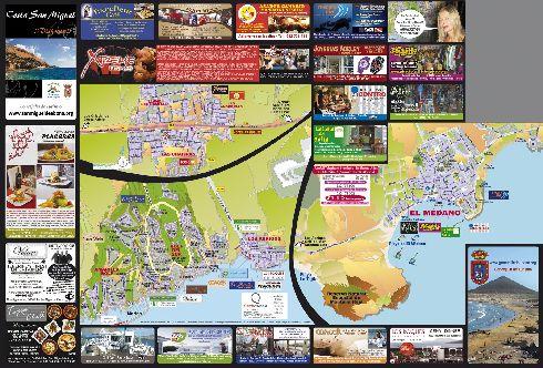 Карта серф-спота Эль-Медано