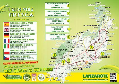 Ещё один вариант карты о. Лансароте