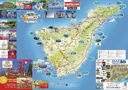 Художественная карта Тенерифе