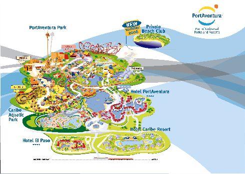 Художественная карта Порт Авентуры