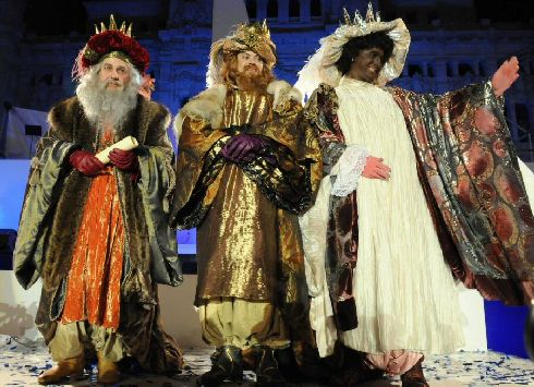 Ежегодный сезон праздников начинается Крещением, которое в Испании зовется Днем трех королей (Фото с allmadrid.blogspot.com)