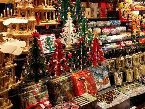 Рождественское настроение на улицах Барселоны