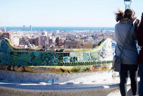 Погода в декабре в Барселоне нередко дарит ясные теплые дни