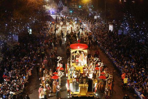 Праздник Трех Королей в Барселоне