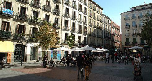 Malasaña - богемный район, полный старинных модных бутиков, баров и ретро кафе