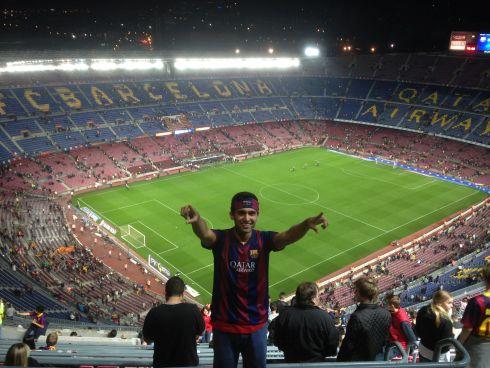 Зимой можно отправиться на один из легендарных стадионов Испании, например, Ноу Камп, где играет Барселона