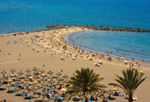 Пляжи курорта Лас-Америкас в Испании