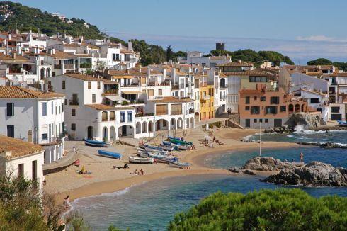 Курорт Палафружель в Испании