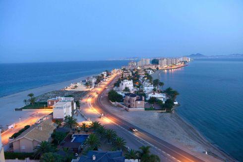 Ла Манга - городок, находящийся на Малом Море
