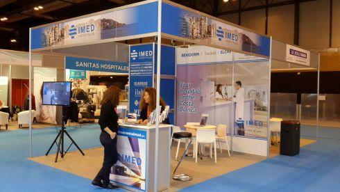 IMED на выставке, посвященной развитию медицинского туризма в Испании