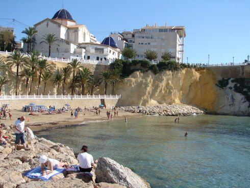 Небольшой пляж Cala Del Mal Pas